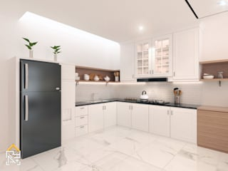 JRY Atelier Built-in kitchens Plywood White