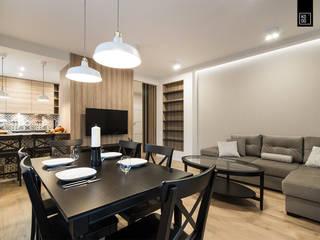 Dining room by KODO projekty i realizacje wnętrz