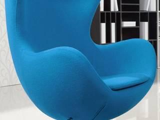 Decordesign Interiores Living roomStools & chairs Blue