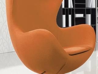 Decordesign Interiores Living roomStools & chairs Orange