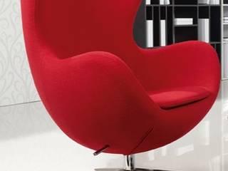 Decordesign Interiores SalasBancos y sillas Rojo