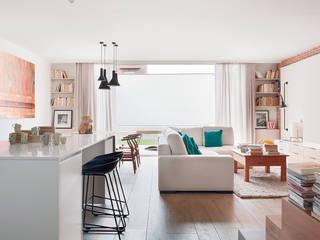 غرفة المعيشة تنفيذ Abrils Studio