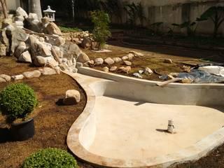 Projeto e Gerenciamento : Jardins zen  por Eric Harada - Projetos e Construções,Clássico