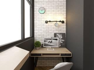 квартира студия с балконом: Рабочие кабинеты в . Автор – Sensitive Design