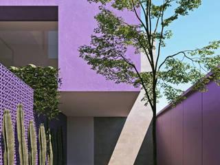 Casa en Guadalajara: Garajes abiertos de estilo  por Obed Clemente Arquitectos,