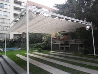 Toldos Retráctiles Balcones y terrazas modernos de RIDÓ Moderno