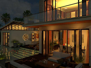 Sea View Villas:   by PSi Designs