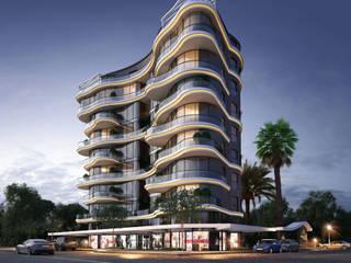 Maisons modernes par MİNERVA MİMARLIK Moderne