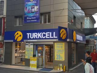 Turkcell mağaza ed mimarlık Modern