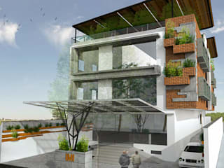 Office Building @ Anna Nagar by Uncut Design Lab