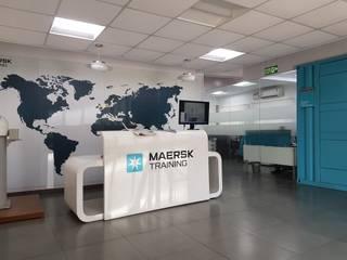 Maersk Training , Chennai:   by Uncut Design Lab
