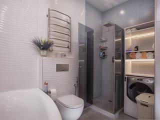 Ванные комнаты в . Автор – СотаСтрой