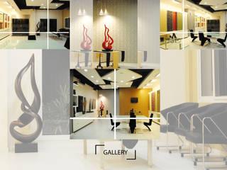 Artisan Gallery,Chennai:   by Uncut Design Lab