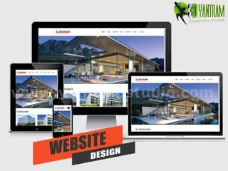 Website Design / Development Services by Yantram Real Estate Web Development, New York - USA Yantram Architectural Design Studio Klasik