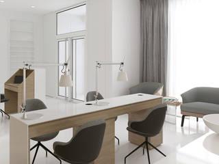 Архитектурное бюро Киев Minimalst style study/office