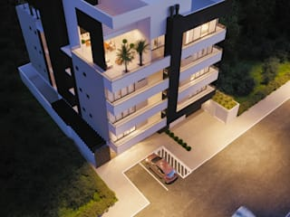 Fachada : Casas  por Fran Arquitetura