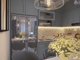 Мужская нежность: Кухни в . Автор – ХаТа - design