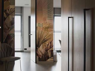 Barkod Interior Design Modern corridor, hallway & stairs