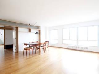 Soggiorno in stile  di fic arquitectos, Moderno