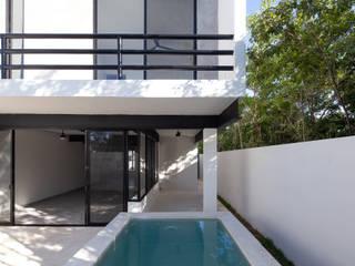 casas oval de Daniel Cota Arquitectura | Despacho de arquitectos | Cancún Minimalista