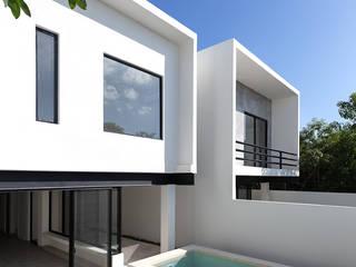 casas oval de Daniel Cota Arquitectura | Despacho de arquitectos | Cancún Moderno