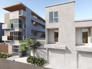 A Proposed 4 Storey Residential Development:  Multi-Family house by Each Studio
