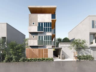 A Proposed 4 Storey Residential Development:  Multi-Family house by Studio Each,