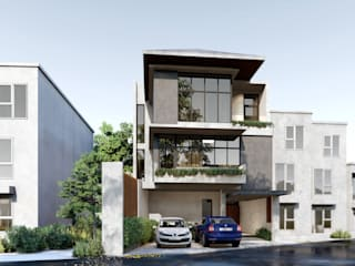 Residential Development:  Multi-Family house by Studio Each,
