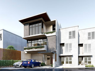 Residential Development:  Multi-Family house by Each Studio