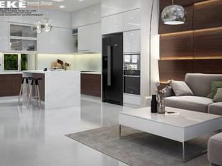 Thiết kế nội thất nhà phố đẹp:   by EKE Interior