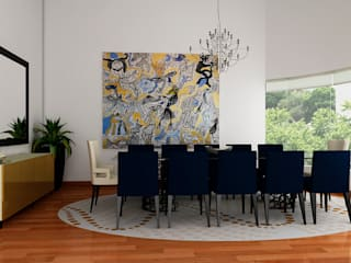 Dining room by Luis Escobar Interiorismo, Modern