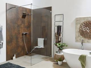 Casas de banho modernas por Glasservice König Moderno