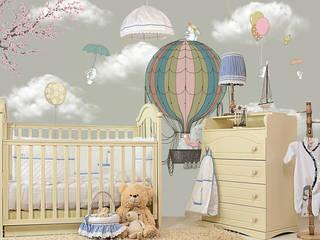 Baby room by SK Concept Duvar Kağıtları