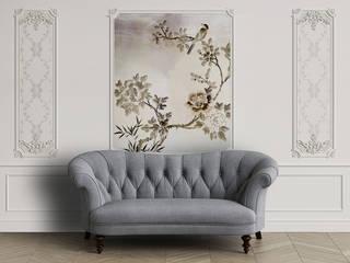 Soft flowers Asyatik Duvar & Zemin homify Asyatik