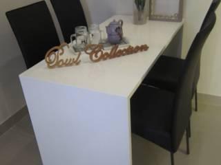 Minimalist dining room by POWL Studio Minimalist