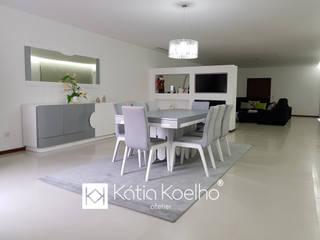 Projeto de Moradia em Famalicão Salas de jantar modernas por Atelier Kátia Koelho Moderno
