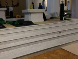 INDAMAR SRL Stairs Marble White
