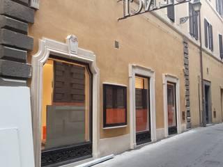 INDAMAR SRL Văn phòng & cửa hàng Cục đá Beige