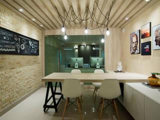 Link Two Web Sites|E-commerce contato: arquitetura@beecriativa.com.br: Edifícios comerciais  por Bee Arquitetura Criativa