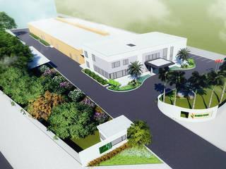 Cảnh quan nhà máy Bimedtech bởi Nestsgroup