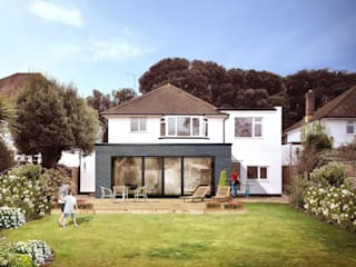 The best home extension for modern home STAAC Detached home Multicolored