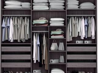 Decordesign Interiores Vestidores y closetsArmarios y cómodas Acabado en madera