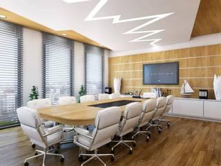 Benid Mimarlık Bürosu – Kıbrıs-Lefkoşa- Ofis Genel merkez-dekorasyon-3B:  tarz ,