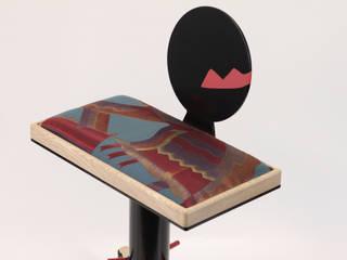 Tabouret Le Bernet par Atelier Concret Moderne