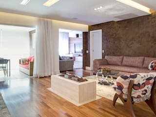 C2HA Arquitetos Living room