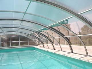 GRACJA SP. Z O.O. Modern pool Aluminium/Zinc