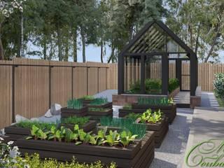 Jardin minimaliste par Компания архитекторов Латышевых 'Мечты сбываются' Minimaliste