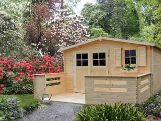Drewniany domek ogrodowy Narcyz: styl , w kategorii  zaprojektowany przez Ogrodosfera