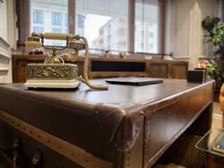 ARTERRA MİMARLIK LTD.ŞTİ. – Burcu Tekstil Mağaza Projesi/ Textile Shop Project:  tarz Ofisler ve Mağazalar