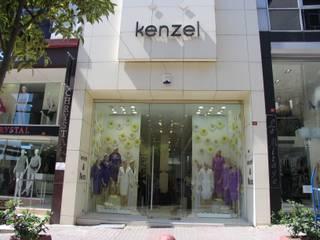 ARTERRA MİMARLIK LTD.ŞTİ. – Kenzel & Bezz Mağaza-Ofis Projesi/ Shop-Office Project:  tarz Ofisler ve Mağazalar